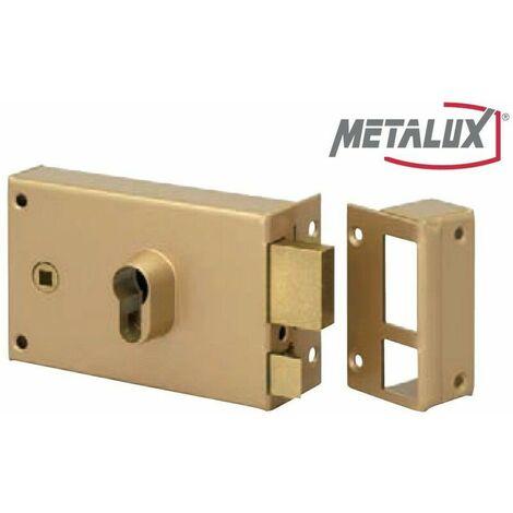 Coffre de Sûreté en applique H gauche tirant 140mm Dom Metalux FE9762217L