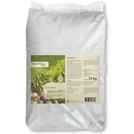 Hauert Algenkalk 25 kg Bodenaktivator Bodenverbesserer Buchsbaumschutz