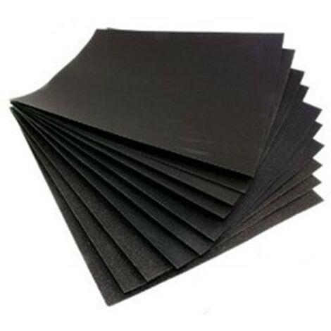 Wet and Dry Abrasive Sandpaper Set 10PK