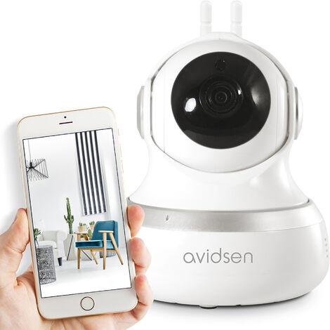 Caméra de surveillance intérieure Avidsen IP Wifi 720 P - 360° - Neuf