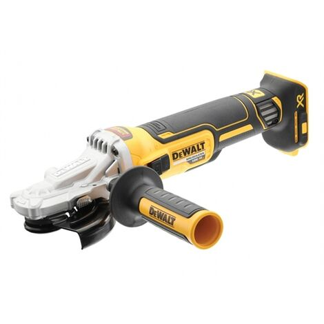 DeWalt DCG405FN 18V XR Brushless 125mm Flathead Angle Grinder - Bare Unit
