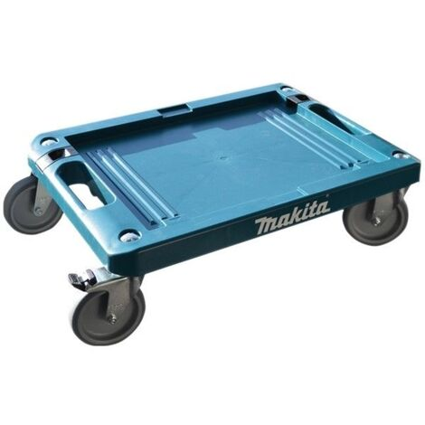 Makita P-83886 MakPac Case Carrier - 4 Wheeled Trolley + Brake - 100kg