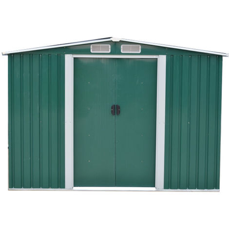 Easy Store Metal Garden Shed - 6 X 8 foot - Various colours available