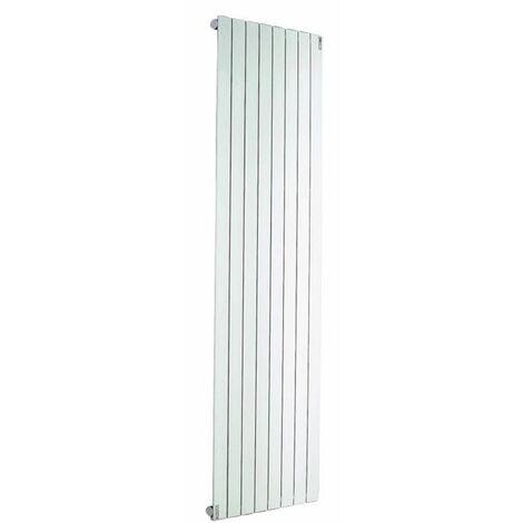 Radiateur ACOVA Fassane Prem's Eau Chaude vertical - Vertical simple - Puissance 930W - H: 2000 - L: 444 - Blanc