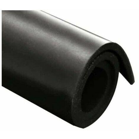 foglio di gomma Neoprene 100x140cm 1 mm di spessore - Noir