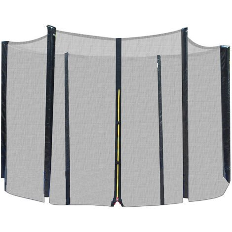 Filet de securite pour trampoline 10ft diametre 305 cm - Noir