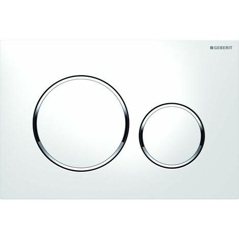 Plaque de commande - Double bouton rond - Sigma