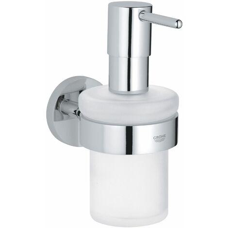 GROHE Distributeur de savon avec support Chromé Essentials