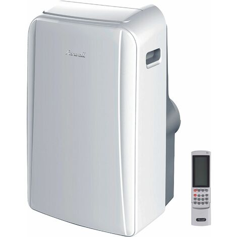 climatiseur mobile reversible 3520w 35m2 - mfr012 - airwell