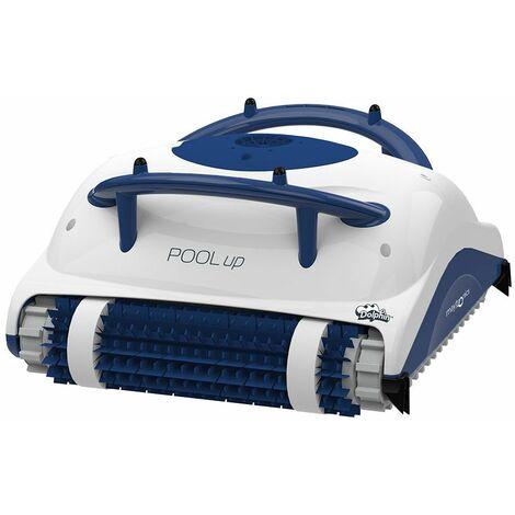 robot electrique de piscine fond et parois - pool up - dolphin