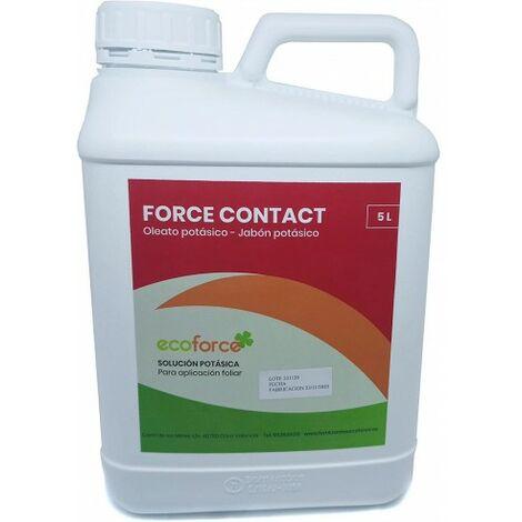 CULTIVERS Jabon potásico de 5 L. Insecticida ecologico con Registro para Agricultura. Actua por Contacto