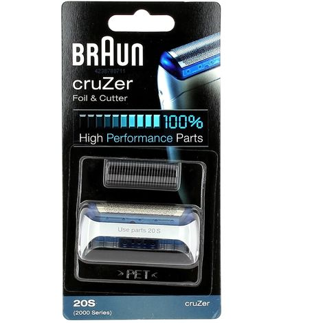 Grille+couteau series 2000 cruzer 20s pour Rasoir Braun