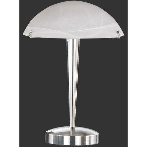 Lampe Chevet Tactile Fleur d'Automne - Blanc