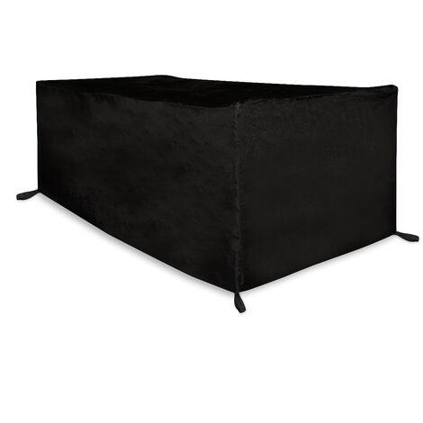 Housse pour table de jardin - 225 x 105 x 75cm – Imperméable, résistante aux UV, à la gèle et aux ternissements