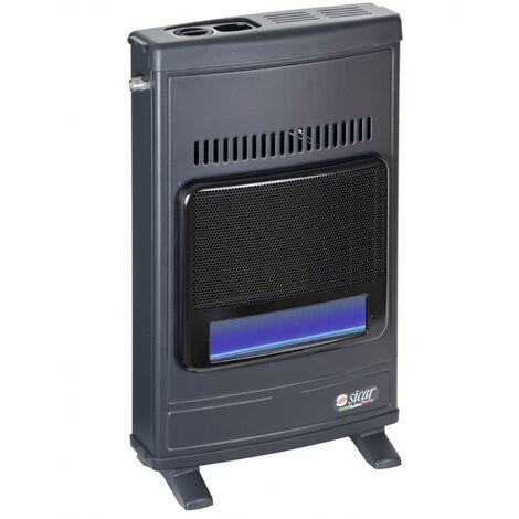 Stufa a gas metano installabile a parete modello Eco45 dispositivo di sicurezza