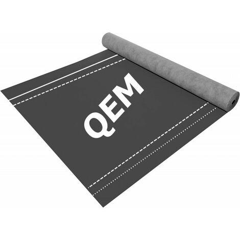 Écran de sous toiture QEM ROOF PROTECT UV 150 + SD = 0.06 rouleau de 50,0 m x 1,5 ml (75 m2) - rouleau(x) de 75m²