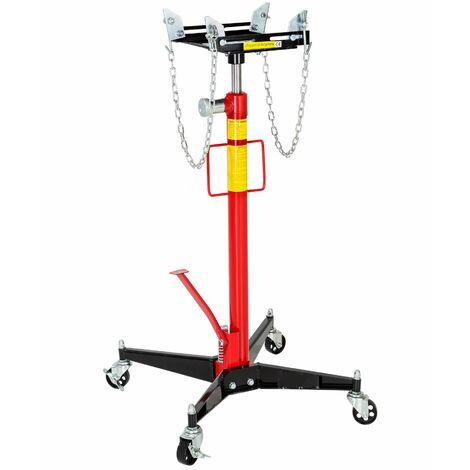 Hydraulic jack - hydraulic jack, jack stands, transmission jack - red