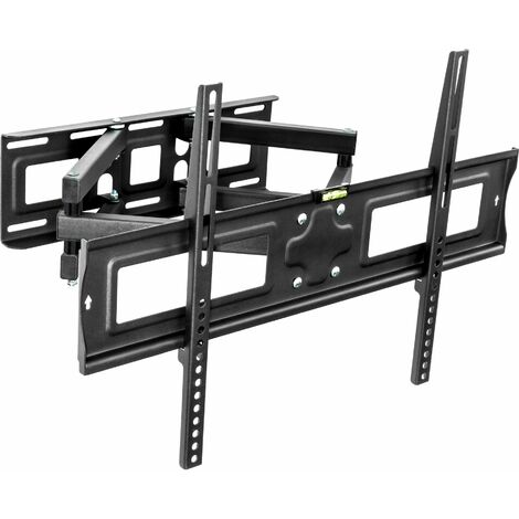 TV wall mount for 32-65″ (81-165 cm) can be tilted and swivelled - bracket TV, wall tv mount, tv on wall bracket - black