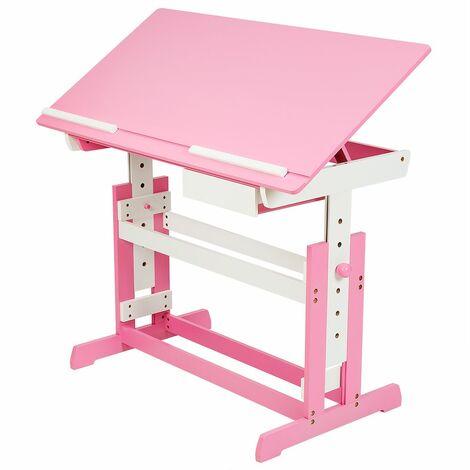 Kids desk with drawer - childrens desk, kids desk, girls desk