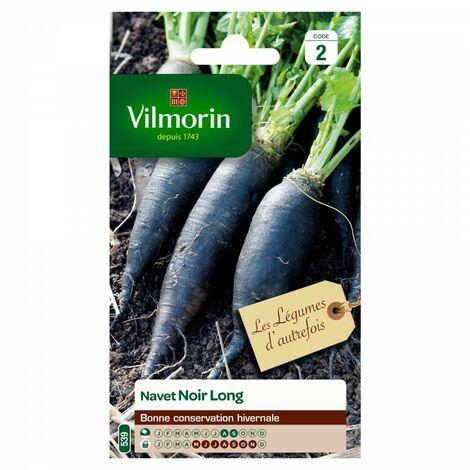 Vilmorin - Pack de Graines Navet Long Noir