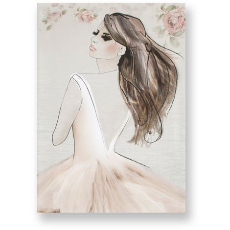 Art for the Home Elizabeth Printed Canvas (Was £25)