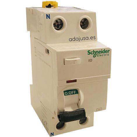 Diferencial 2 polos 25A 10mA AC iID - Schneider Electric