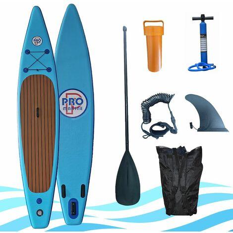 Paddle Gonfable Sharpe - Taille 12,5 pouces (380x76,2x15,2 cm) - En Polyester 1000D