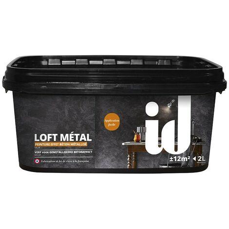 Peinture effet métalisé LOFT METAL 2L - ID Paris