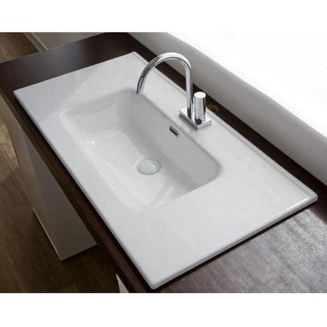 Lavabo da mobile in Ceramica ANDY 100x46