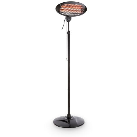 Blumfeldt Hot Roddy Patio Heater Infrared 3 Stages 2000W