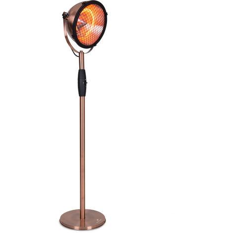 Blumfeldt Heatspot Patio Heater 900/1200 /2100W IR ComfortHeat Copper