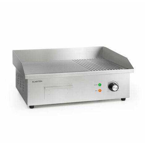 Klarstein Grillmeile 3000GR Pro Electric Grill 3000W 54.5x35cm Smooth / Ribbed