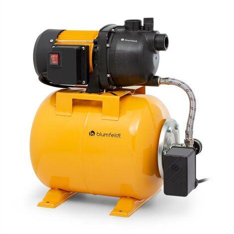 blumfeldt Liquidflow 800 pompe de jardin surpresseur domestique 800 watts 3000 l/h max.