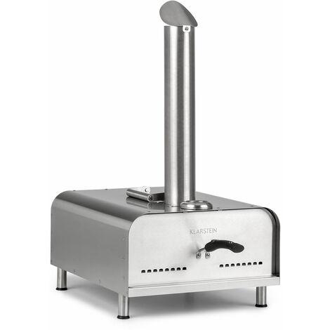 Diavolo Four à pizza extérieur granules de bois thermomètre acier