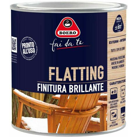 Vernice Flatting Brillante Legno Serramenti Infissi Barche Liquido 770 Boero