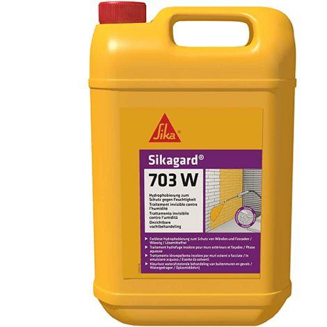 Repelente al agua para fachada Sikaguard 703W 5 Litros