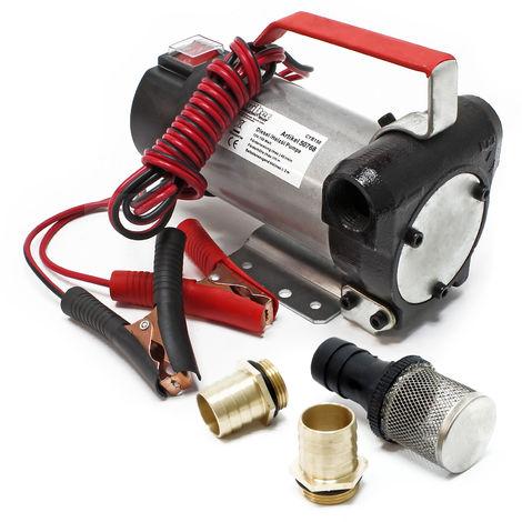 Self Priming Bio Fuel Oil Diesel 12V/160W 40l/min Transfer Pump H/D Portalbe