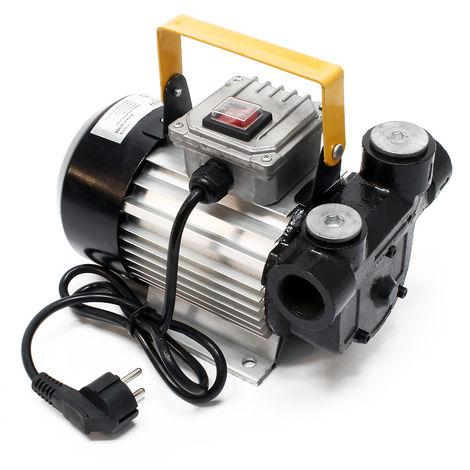WilTec Self Priming Bio Fuel Oil Diesel 230V 550W 20-60L/min Transfer Pump