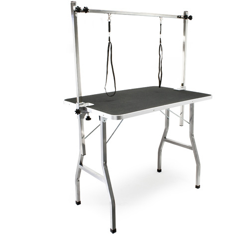 Shearing table Trimming table with 2 loops Grooming table for dog and cat
