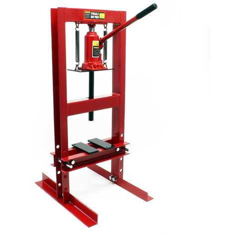 Industrial Hydraulic Workshop Bench Press 6t Pressure Shop Garage Floor