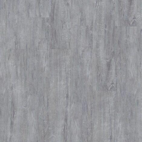 Lames de sol PVC clipsables - boite de 9 lames sol vinyle imitation parquet - 2 m² -Starfloor Click 30- cerused chêne cold gris - TARKETT