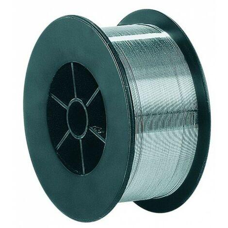 Fil à souder aluminium 0.8mm-soudage MIG-MAG semi-automatique-Bobine fil aluminium de soudure de 500g-fil non fourré-Qualité Ag5