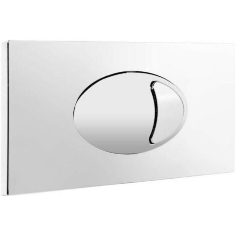 Concealed Cistern Push Button Plate (For Use With FAC001 & SLCC01)