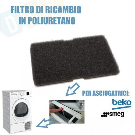 Filtro Asciugatrice Spugna Poliuretano Asciugatrice Beko Smeg 782372152 2964840100 2964840200