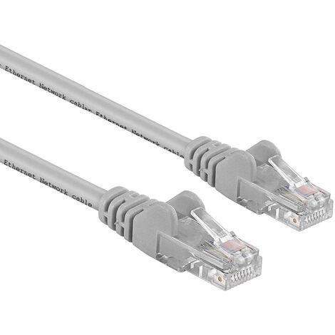 CAVO ETHERNET DI RETE 15 METRI 15 MT LAN PLUG RJ45 UTP CAT6 PROLUNGA LAN ROUTER