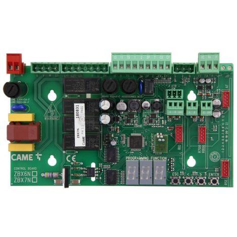 CAME ZBX7N carte Žlectronique pour moteurs coulissants BX - ex ZBX74 ZBX78 pice dŽtachŽe