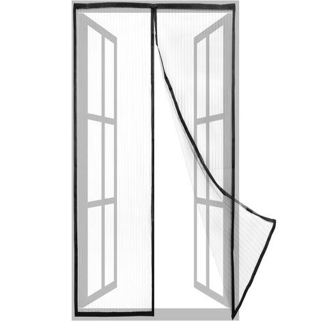 PrimeMatik - Mosquitera para puerta 75 x 215 cm con cierre magnético