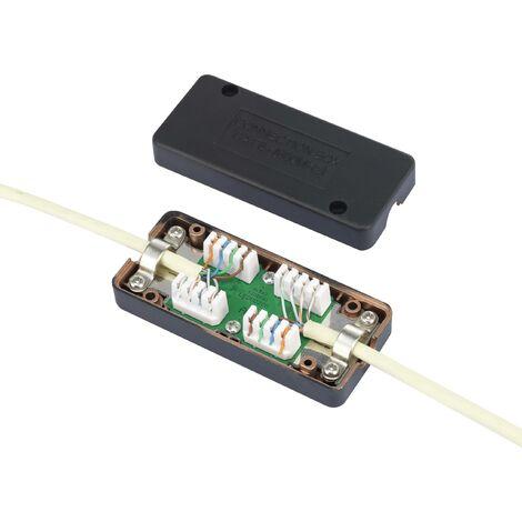 Boîtier de connexion Renkforce Adapté pour: CAT 6a W717851