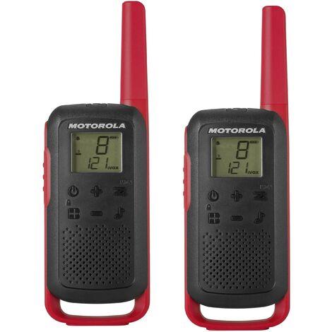 Talkie-walkie PMR Motorola Solutions TALKABOUT T62 rot 1 pc(s) D948691