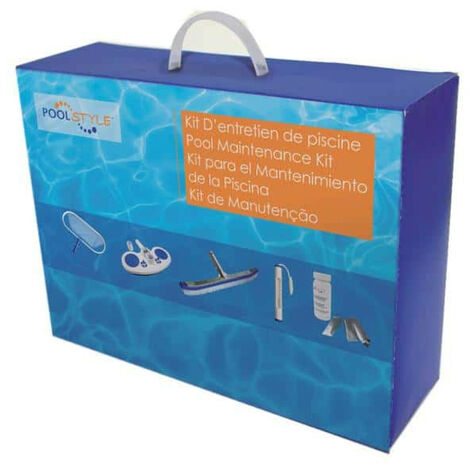 Luxury maintenance kit - swimming pool and spa